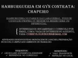 Contrata se Chapeiro