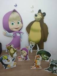 9 Kit Display - Masha e o Urso
