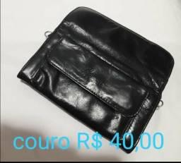 Bolsa de mão de couro