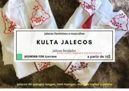 Jalecos (NOVOS) Original kulta, feminino e masculino