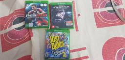 03 Jogos Para Xbox One em perfeito estado - originais