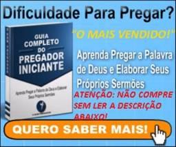 Ebook Guia Completo Do Pregador Iniciante Novo