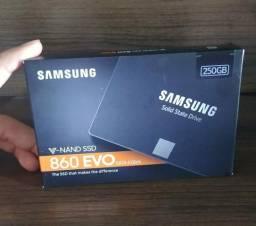 Memória ssd samsung 860 evo 250gb - original