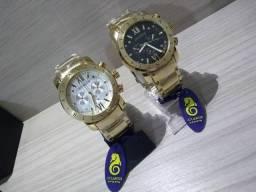 Promoção Relógio Atlantis Original Modelo Bvlgari (Loja fisica Rei Imports) f69841bb36