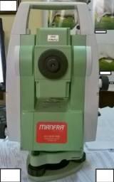 Estação total marca Leica modelo TS02 R400 mede sem prisma comprar usado  Curitiba
