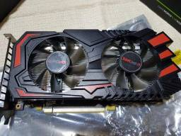 Placa de Vídeo Pcyes Geforce GTX 1060 Dual, 6GB Gddr5X, 192BIT
