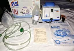 Nebulizador Inalar Compact NS, Na Caixa, Nota Fiscal