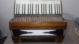 Acordeon gaita sanfona Todeschini 120 para peças ou reforma