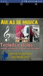 Aulas de musica a Domicilio zona Leste