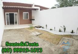 Casa com 2 quartos à venda, 82 m² por R$ 140.000 Barrocão - Itaitinga/CE
