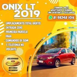 Onix Lt 2019 0 de Entrada - 2019