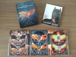 Box DVD Trilogia Batman e o Cavaleiro das Trevas (6 discos + livreto)