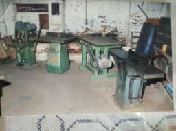 Vende se maquinário para madeiras