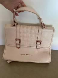 Bolsa feminina JORGE BISCHOFF rosa, original e em excelente estado