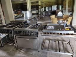 Equipamentos de restaurante cozinha