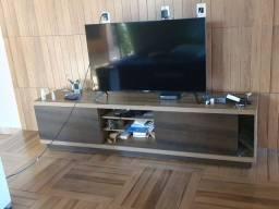 Rack de tv com painel