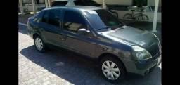 Clio Sedan 1.6 2005, completo.  Quitado e sem dividas