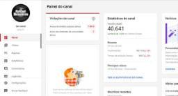 Vendo Canal no YouTube 40k