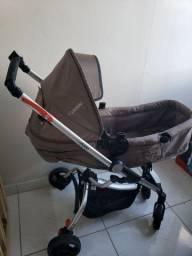Carrinho + bebê conforto kiddo eclipse