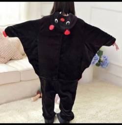 Kigurumi de morcego infantil