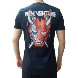 Camiseta Manga Curta 100% Agodão New Venture