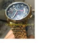 Relógio Nibosi original Aço Inox Superluxuoso Promoção