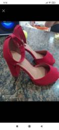 Sapato semi novo valor 45 $