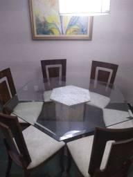 Conjunto mesa com cadeiras