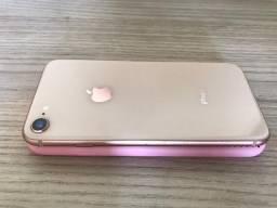 IPhone 8 semi novo Rose gold 64gb