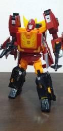 Transformers Rodimus prime of the prime Robo tamanho 23 cm