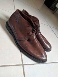 Sapato de Couro Legítimo Selaria Richards