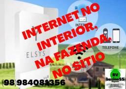 Internet no sítio, na fazenda, em zona rural