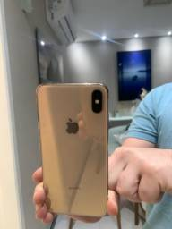 IPhone XS Max dourado 64gb completo