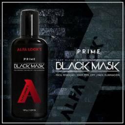 Mascara de limpeza facial Black Mask