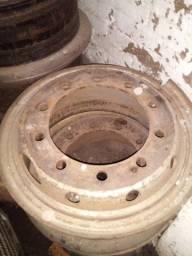 Rodas 10 furos pneu câmara(Vacaria)