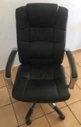 Cadeira Presidente Alumínio Escritório - Novíssima