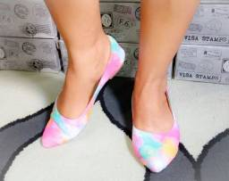 Calçados Tie Dye
