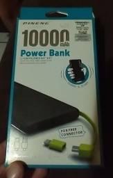Carregador portátil 10.000 miliamperes novo top toop aceitamos cartão de crédito e débito