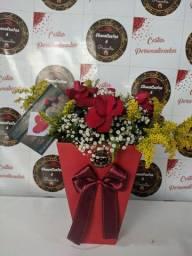 Lindas Rosas Vermelhas para Presente