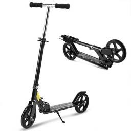 Patinete Adulto Esportivo Dobrável Reforçado 90kg Roda 200mm