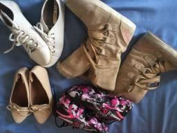 Lotinho de sapato/bota e tênis
