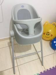 Vendo bubble nest banheira e cadeira de alimentação