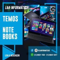 Temos Notebooks - Samsung, Acer, Dell, Lenovo, HP, Login, Positivo, Gateway