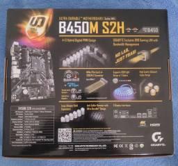 Placa mãe Gigabyte B450M S2H - PC Gamer