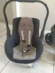 Título do anúncio: Carrinho bebê com bebê conforto butti baby Thor 0 a 15g