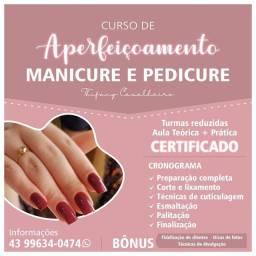 Título do anúncio: Curso de Aperfeiçoamento Manicure e Pedicure