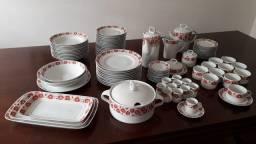 Título do anúncio: Jogo de jantar porcelana Schmidt