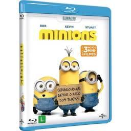 DVD - Os Minions (Blu-ray)
