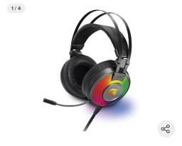 Fone headset gamer fortreck H3 rgb novo