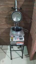 Máquina de pressão Frango